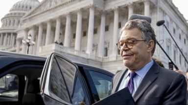 'VIDEO: World News 12/07/17: Sen. Al Franken to Resign from Senate Amid Sexual Misconduct Allegations' from the web at 'http://a.abcnews.com/images/WNT/171207_wn_full_16x9_384.jpg'