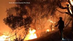 VIDEO: California wildfire explodes in size, prompting new evacuations overnight