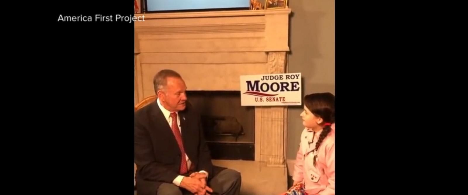 VIDEO: Roy Moore gives new interview to preteen