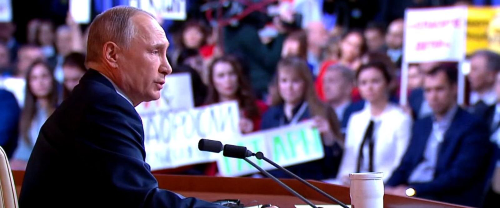 VIDEO: Putin calls Russia collusion 'made-up spy mania'