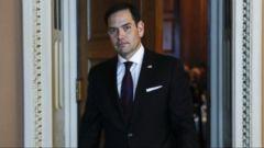VIDEO: Republican senators come together for GOP tax bill