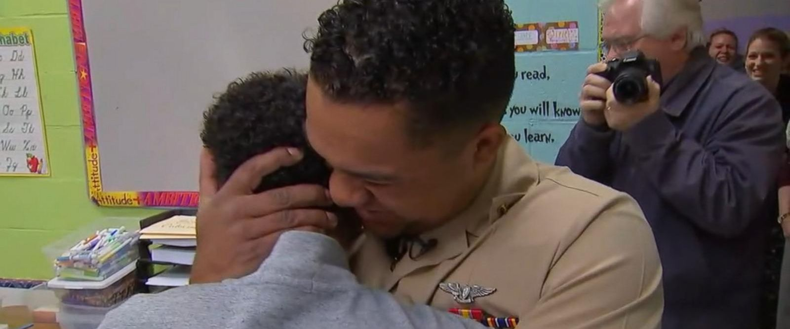 VIDEO: Soldier returns and surprises his daughter at daycare