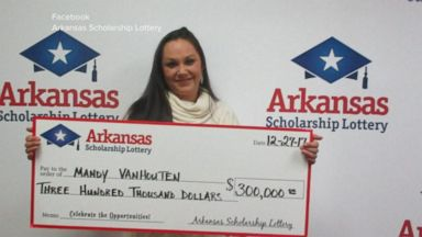 'VIDEO:Arkansas lotto winner angers co-workers by not sharing' from the web at 'http://a.abcnews.com/images/WNT/171230_wn_riviera1_16x9_384.jpg'
