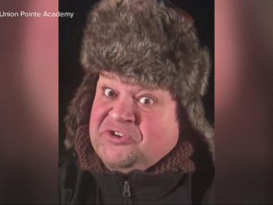 WATCH:  School principal singing snow day alert goes viral