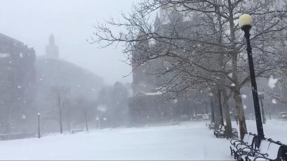 3rd nor'easter in less than 2 weeks strikes city as full-blown blizzard