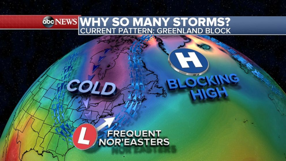 East Coast eyes possible 4th nor'easter for early next week