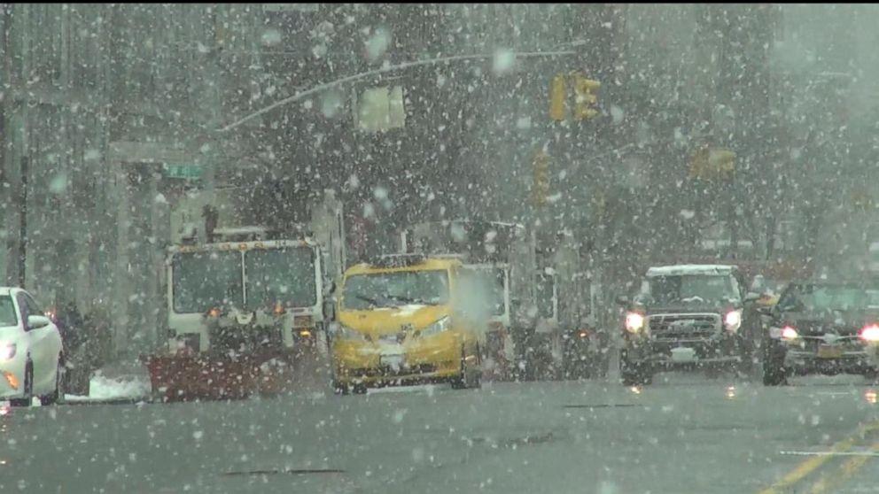 Springtime snowstorm  cuts miserable path through Northeast