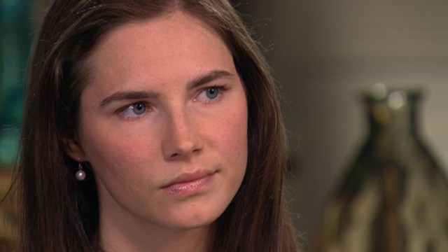 VIDEO: Amanda Knox is interviewed by Diane Sawyer for ABC News.