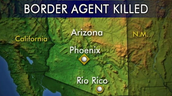 VIDEO: 40-year-old agent Brian Terry was shot and killed near U.S.- Mexico border.