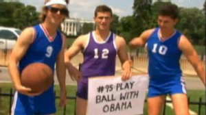 VIDEO: Duncan and Jonnie Penn tackle life goals, ask Obama whats on his list.