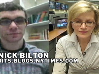 VIDEO: Diane Sawyer chats with Nick Bilton about Google Buzz