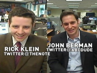 VIDEO: ABCs John Berman Talks Health Care With ABCs Rick Klein