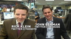 VIDEO: ABCs John Berman Talks Health Care With ABCs Rick Klein