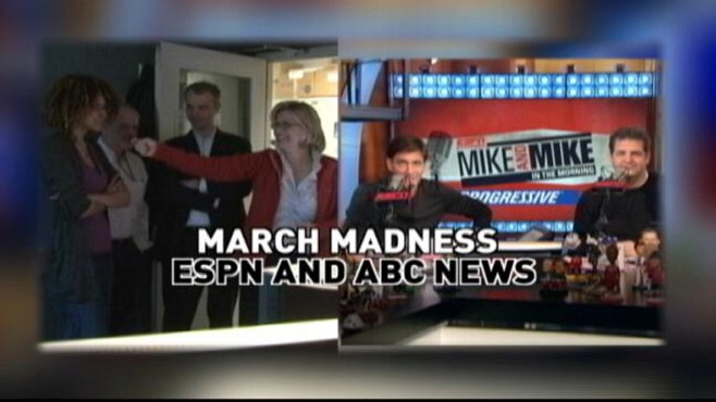 VIDEO: Diane Sawyer talks with ESPN's Mike and Mike about March Madness