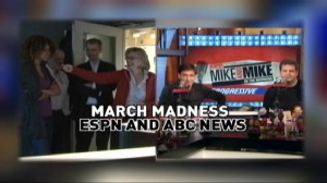 VIDEO: Diane Sawyer talks with ESPNs Mike and Mike about March Madness