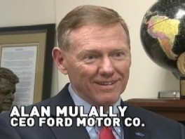 Ford ceo alan mulally joins the conversation about the for Ford motor company alan mulally