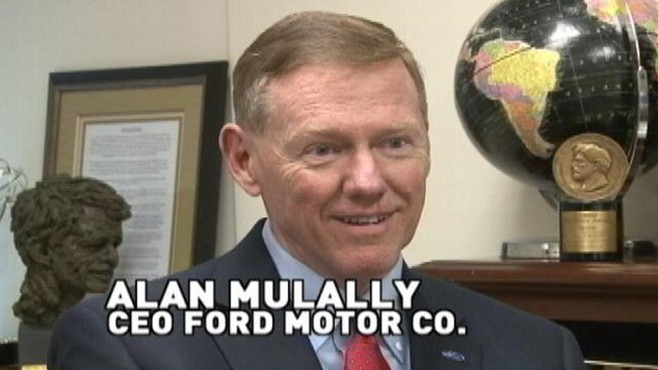 VIDEO: Diane Sawyer and the CEO of Ford on the future of the car industry.