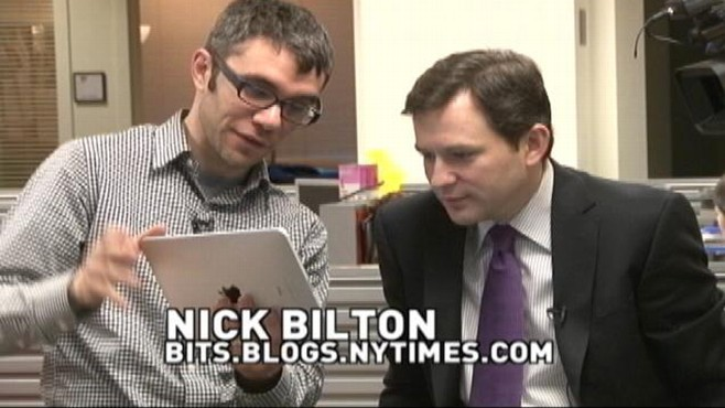 VIDEO: Dan Harris gets a hands-on lesson with the new iPad.