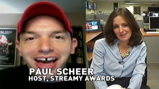 VIDEO: ABCs Sharyn Alfonsi talks with Paul Scheer about hosting the Streamy Awards