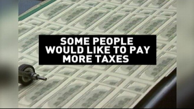 VIDEO: ABCs John Berman finds out why some people want to pay more taxes.