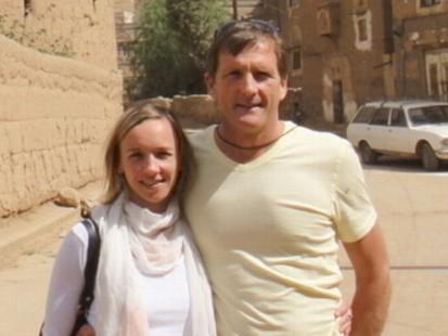 VIDEO: Glen Davis and Ludmilla Yamanova describe their terrifying day in captivity.