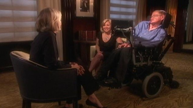 VIDEO: More from Diane Sawyers interview with Stephen Hawking