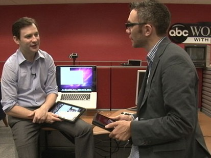 VIDEO: Dan Harris and New York Times reporter Nick Bilton look at ABCs new iPad app.
