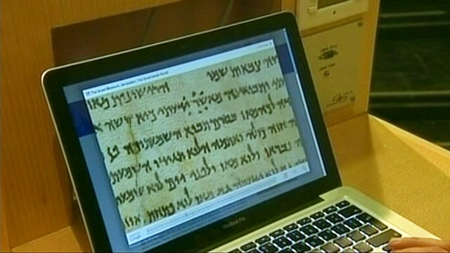 VIDEO: 2,000-year-old manuscripts can be viewed by regular folks for the first time.