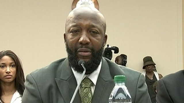 VIDEO: Trayvon Martins father attends hearing in Washington D.C. to discuss loss of his son.