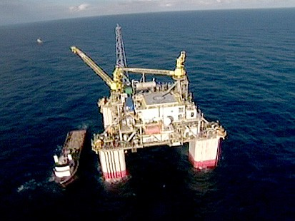 VIDEO: ABC News visits offshore rig