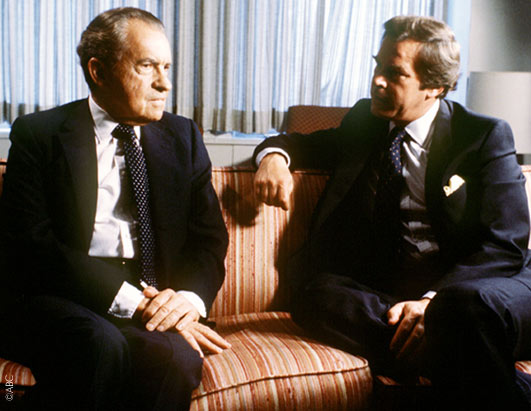 Peter Jennings talked to former President Richard M. Nixon in Nixon's New York office.