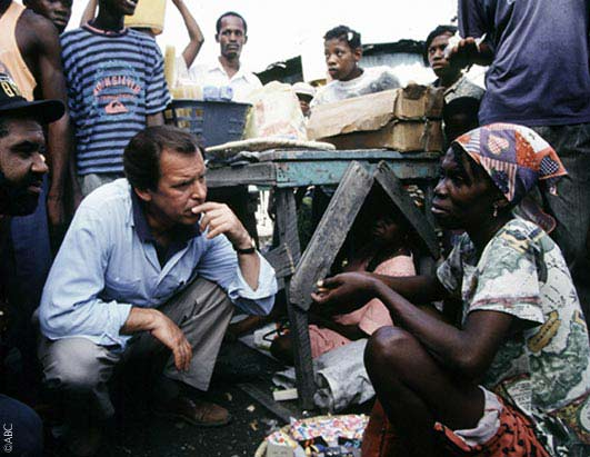 Peter Jennings reported from Haiti