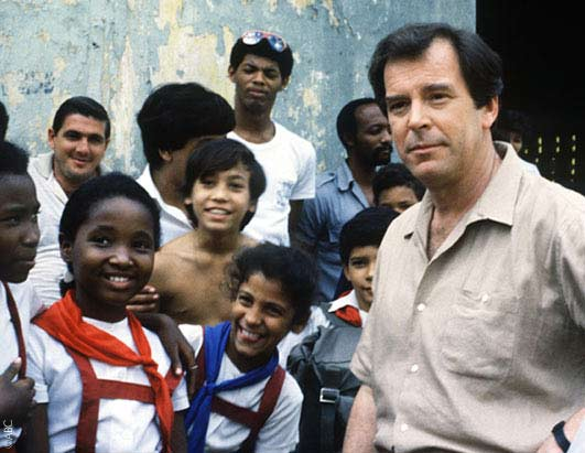 Peter Jennings anchored from Havana, Cuba