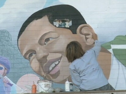 VIDEO: Community outrage when a portrait of a Hispanic boy is repainted.