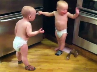 Twin Babies Hold Conversation