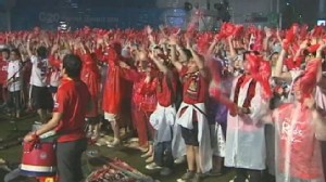 VIDEO: South Koreans are very passionate about their teams chances in the World Cup.