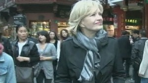 VIDEO:Diane Sawyer Conquers China