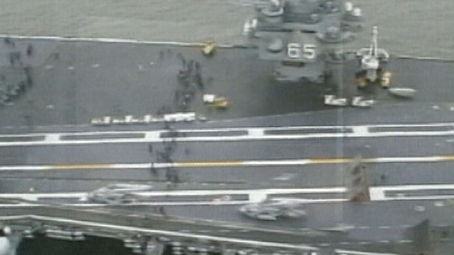 VIDEO:Naval Commander Under Fire