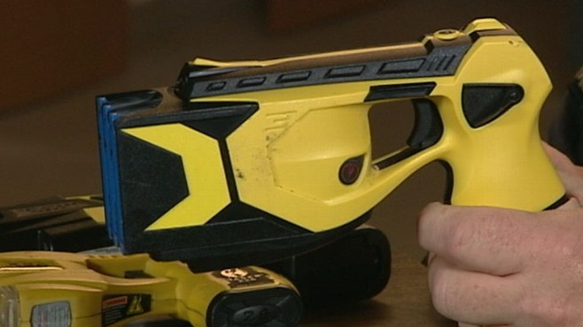 VIDEO:New Tasers Raise New Worries