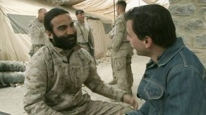 VIDEO: Actor Fahim Fazli serves as a translator in Afghanistan