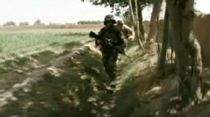 VIDEO: Taliban opens fire while Miguel Marquez was on patrol with troops in Afghanistan