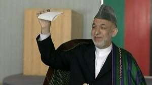 VIDEO: Karzai Wins Presidency as Afghan Runoff Is Cancelled