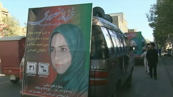 VIDEO: Despite Taliban, more women are putting their lives on the line for Afghanistan.