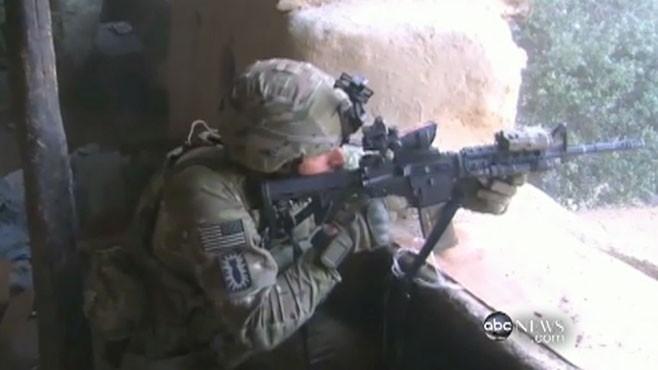 VIDEO: ABC's Mike Boettcher is the only journalist with the 101st Airborne.