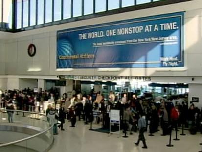 VIDEO: Newark Airports Security Breach Major Negligence