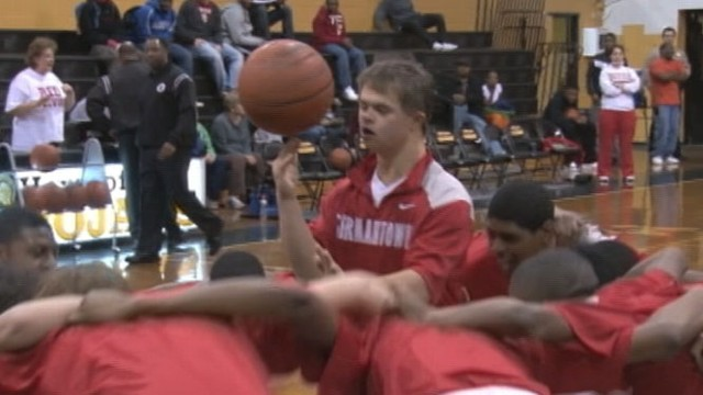 VIDEO: Sharp-shooter David Andrews and his team won the county championship.