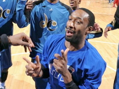 VIDEO: With Gilbert Arenas suspension, concerns arise about athletes and illegal guns.