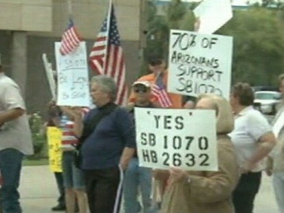 VIDEO: Many are Upset Over Controversial Immigration Law