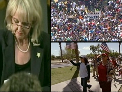 VIDEO: Some threaten to boycott Arizona in response to the controversial law.