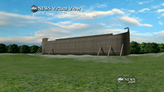 VIDEO: Noah's Ark Tourist Attraction Sparks Debate